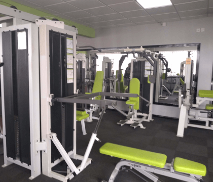 Fixed resistance gym equipment