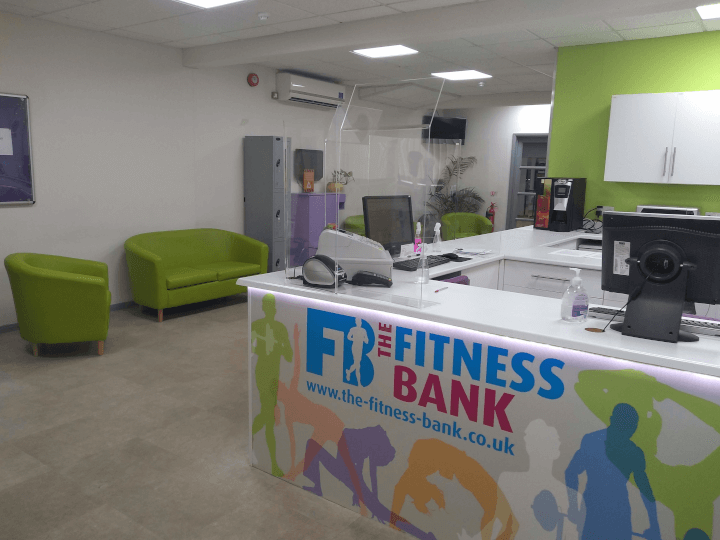 Reception at The Fitness Bank, South Wigston, Leicester